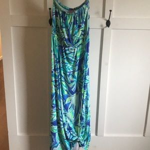 Lilly Pulitzer  Strapless maxi dress